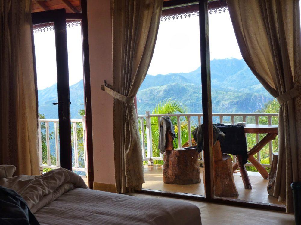 Ausnahmsweise im Vorhinein gebucht: Die View Point Villa in Ella (Sri Lanka) über heilig Abend
