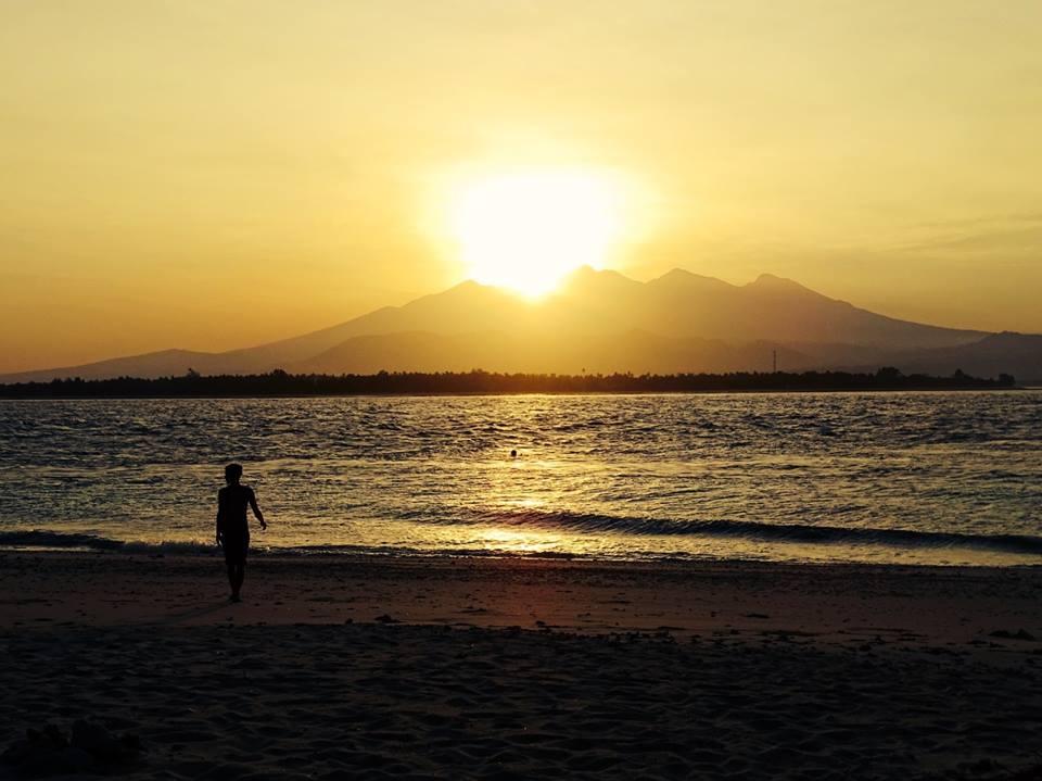 Sonnenaufgang auf Gili Meno