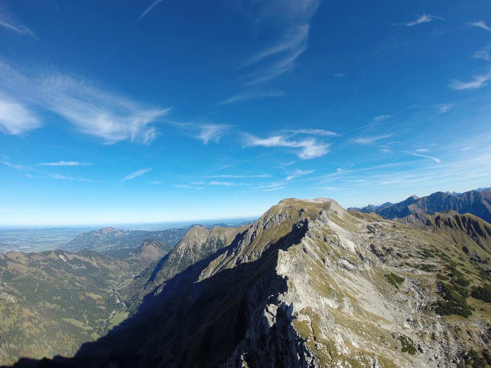 Hindelanger Klettersteig Ungesicherte Stellen : Friedberger klettersteig bergtour bei grän im tannheimer tal tirol