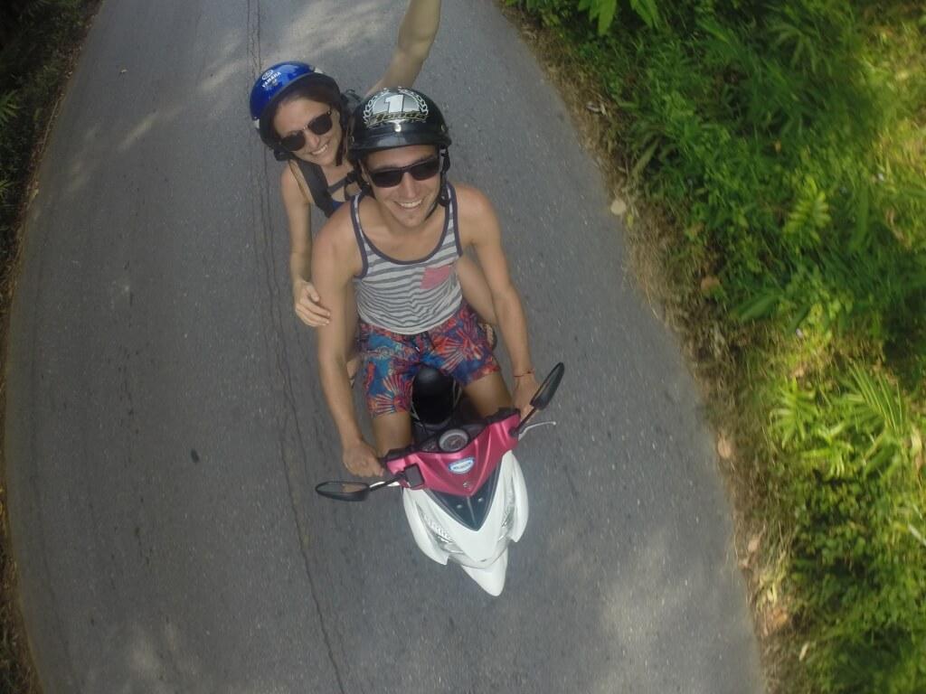 Koh Chang Roller fahren