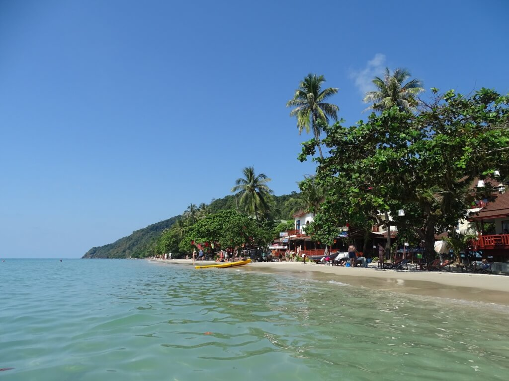 Koh Chang White Sands Beach