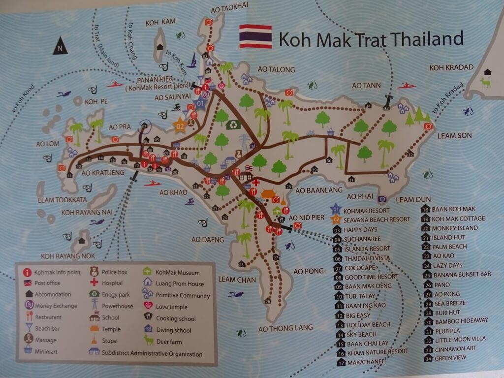 Koh Mak Karte (Copy)