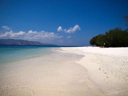 Strand von Gili Meno