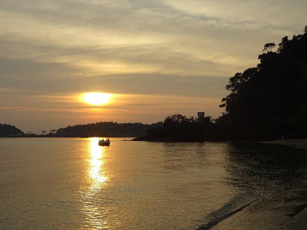Klong Kloi Sonnenuntergang Koh Chang