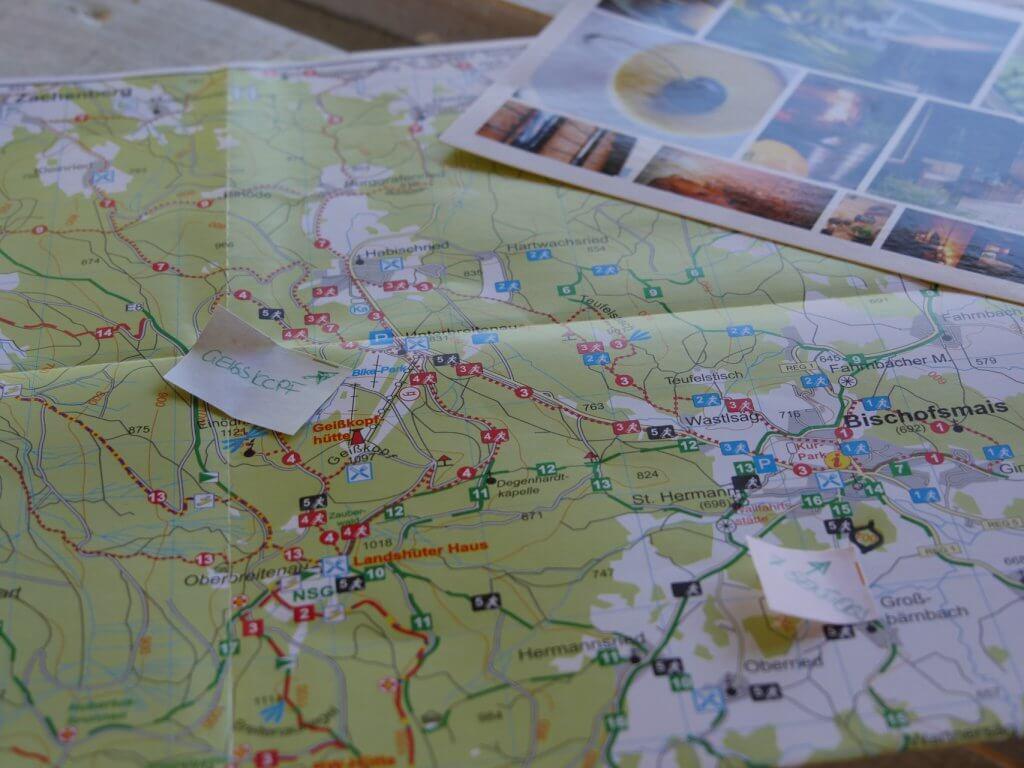 Wandern am Geißkopf Bayrischer Wald