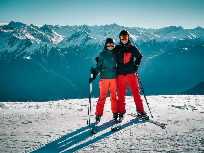 Serfaus Skifahren