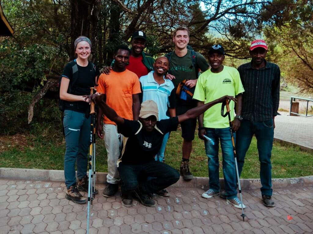 Trekking auf den Mount Meru, Tanzania Expeditions
