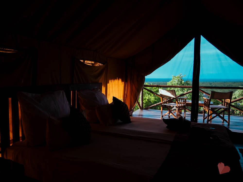 Ausblick vom Maweninga Camp im Tarangire Nationalpark