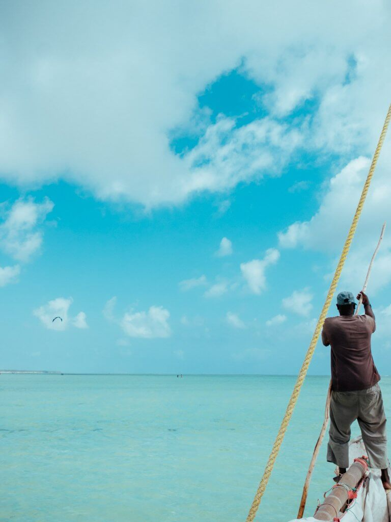 Traumstrand auf Sansibar