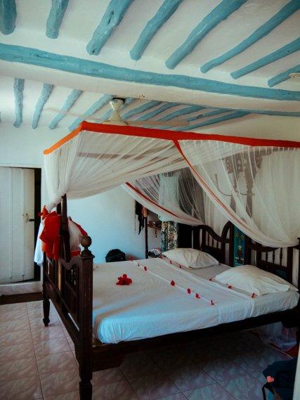 Zimmer der Ndame Beach Lodge