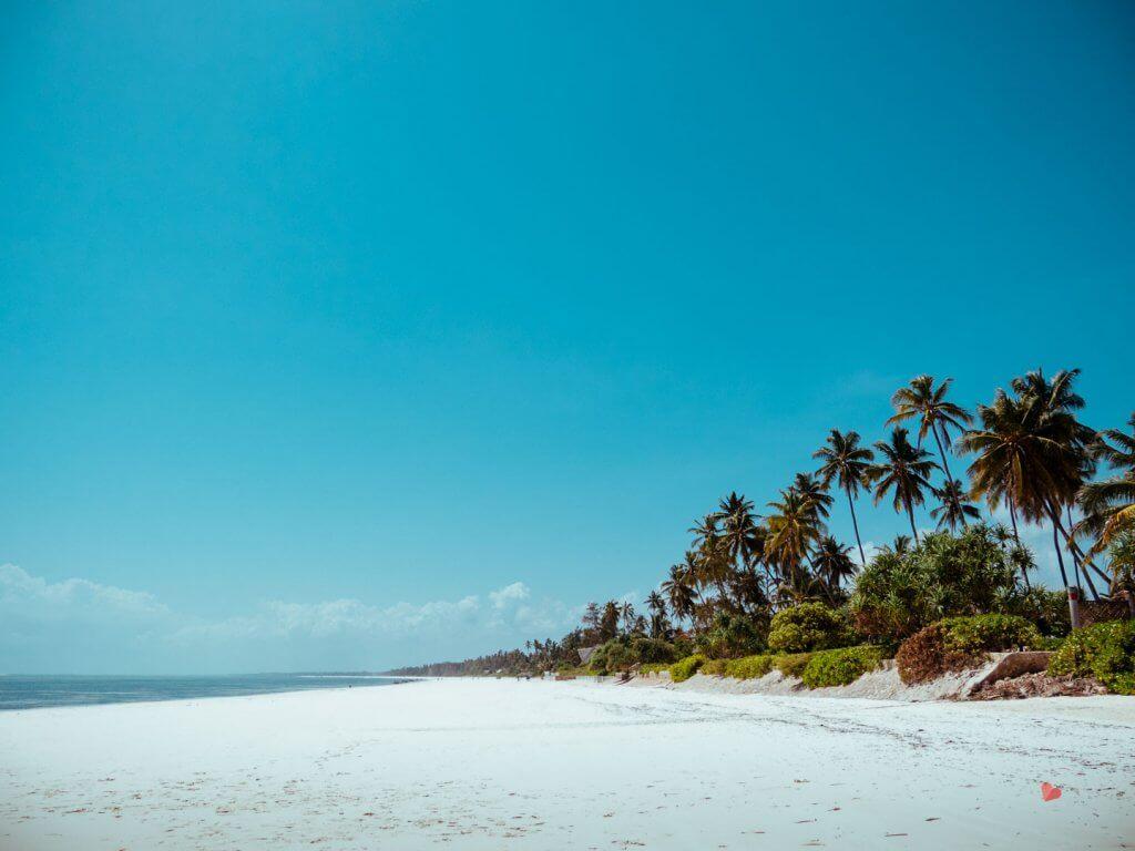 Traumstrand Matemwe in Sansibar