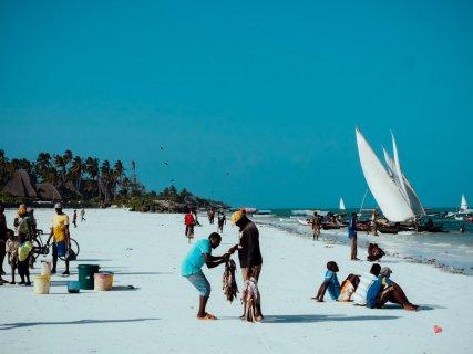 Fischmarkt direkt am Strand