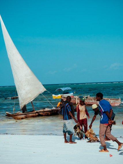 Fischer in Matemwe