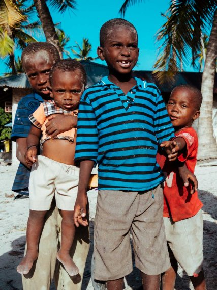 Children of Matmwe, Zanzibar