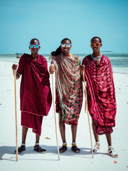 Maasai am Matemwe Beach