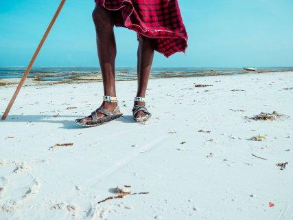 Schuhe Maasai in Metwemwe