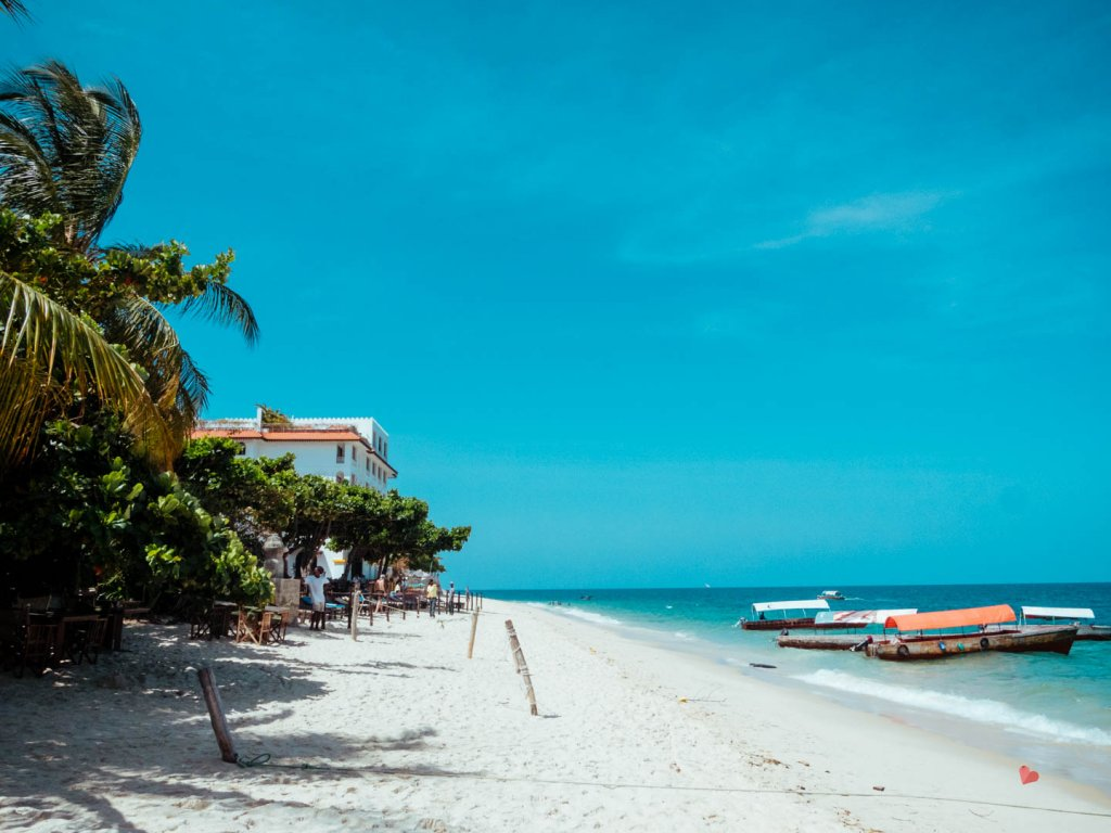 Strand in Stone Town