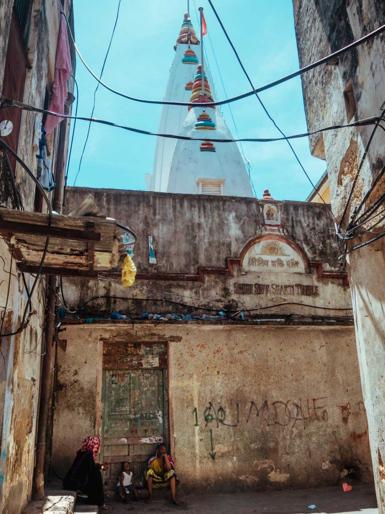Shiva Shakti Hindu Temple in Sansibar, Stone Town