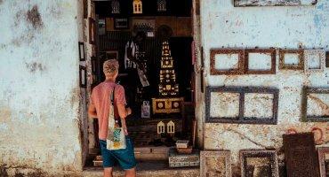 Bilderrahmen Sansibar, Stone Town