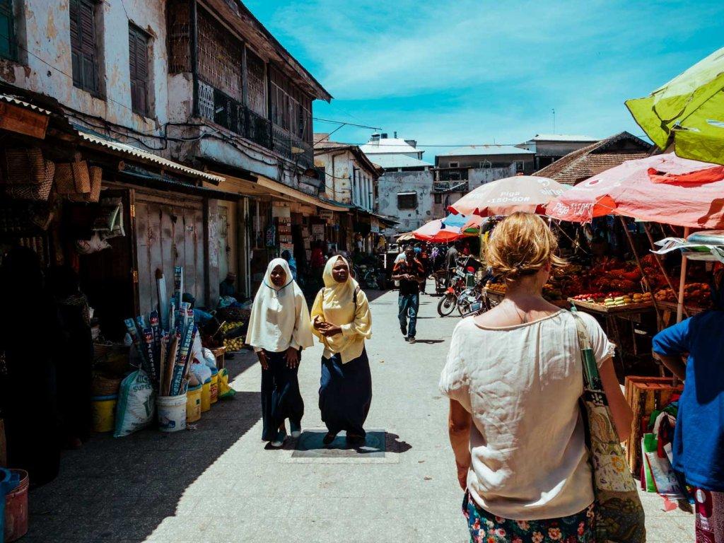 Darajani Markt in Stone Town, Sansibar