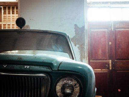 Auto im Museum in Stone Town