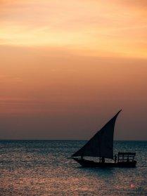 Sonnenuntergang in Zanzibar, Stone Town