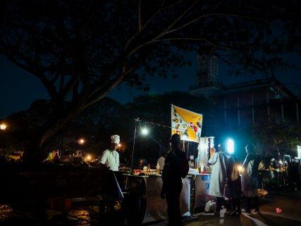 Night Market in Zanzibar, Stone Town