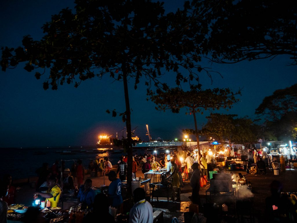 Night Market Stone Town, Forodhani Food Markt
