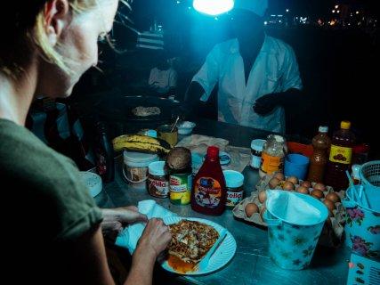 Zanzibar Pizza Forodhani Food Markt Stone Town