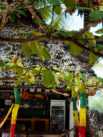 Reggae Bar in Michamvi Kae