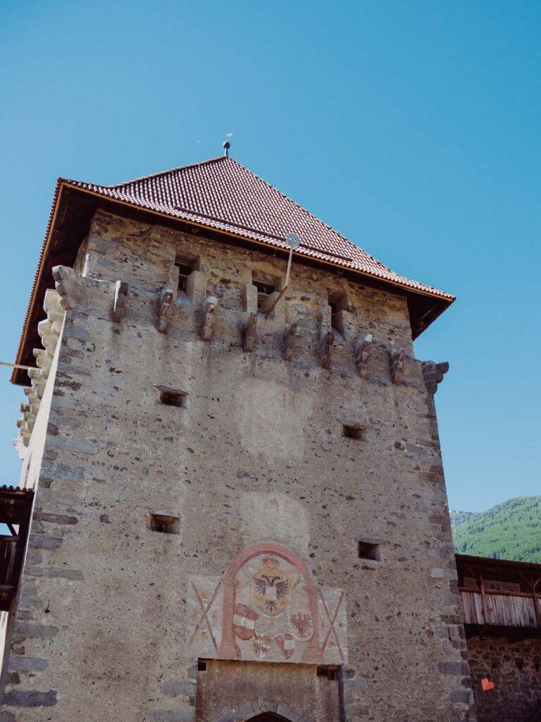 Stadtmauer von Glurns in Südtirol