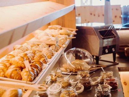 Frühstücksbuffett im Hotel das Gerstl