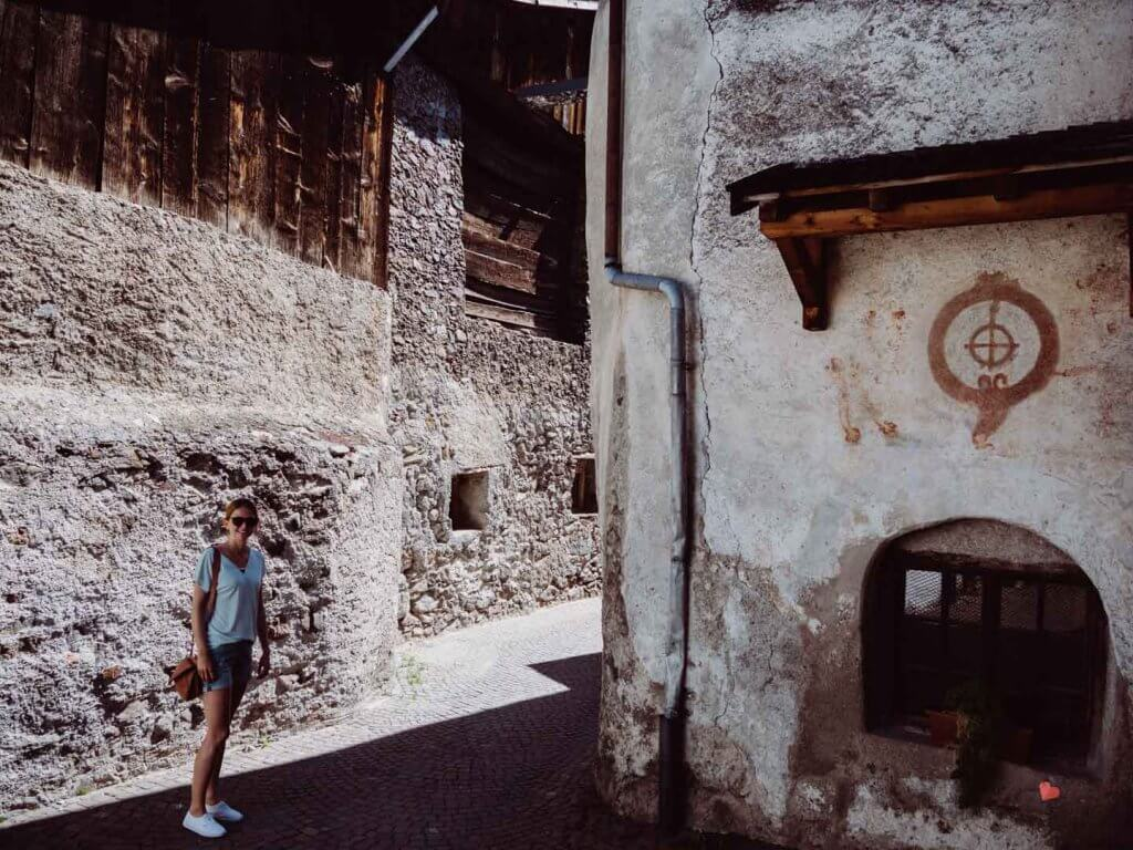 Stadtbummel durch Glurns im Vinschgau