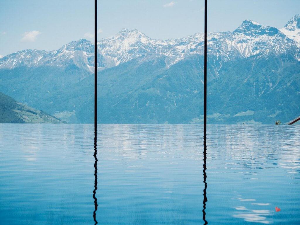 Pool im Hotel das Gerstl