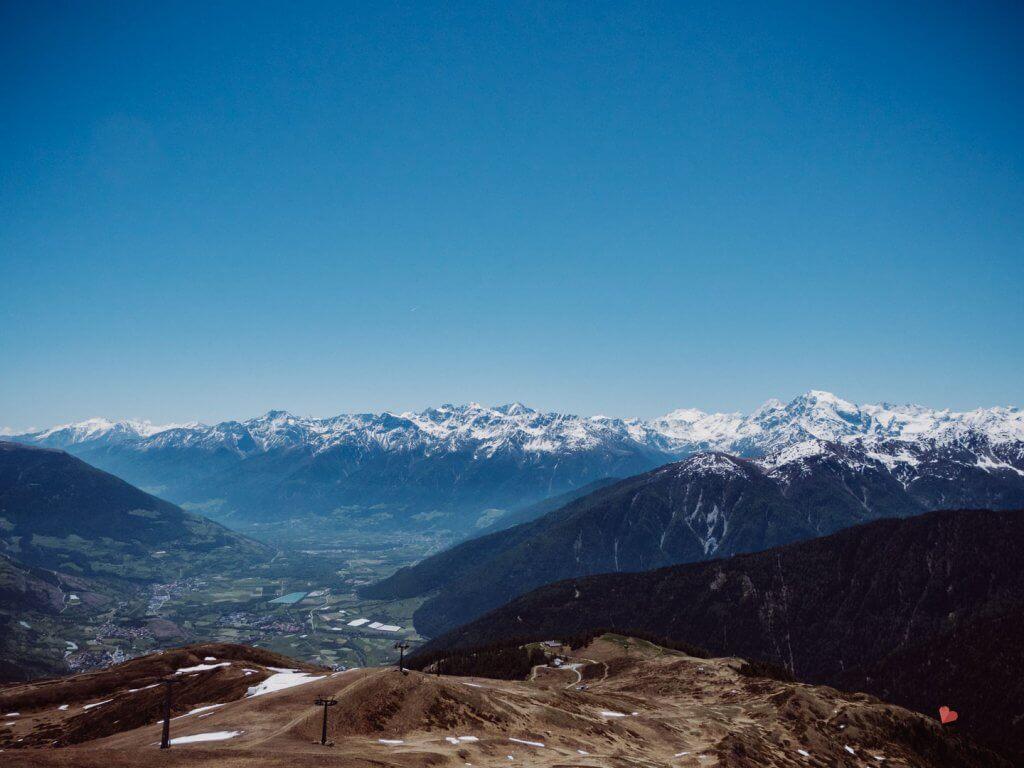 Wanderung auf den Watles in Südtirol