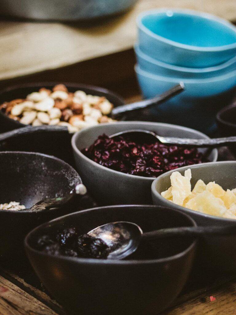 Frühstücksbuffet im mama thresl