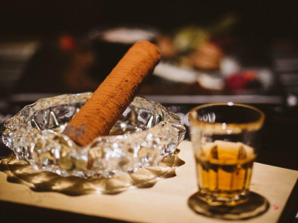 Mamas Zigarre danach - Nachtisch im mama thresl