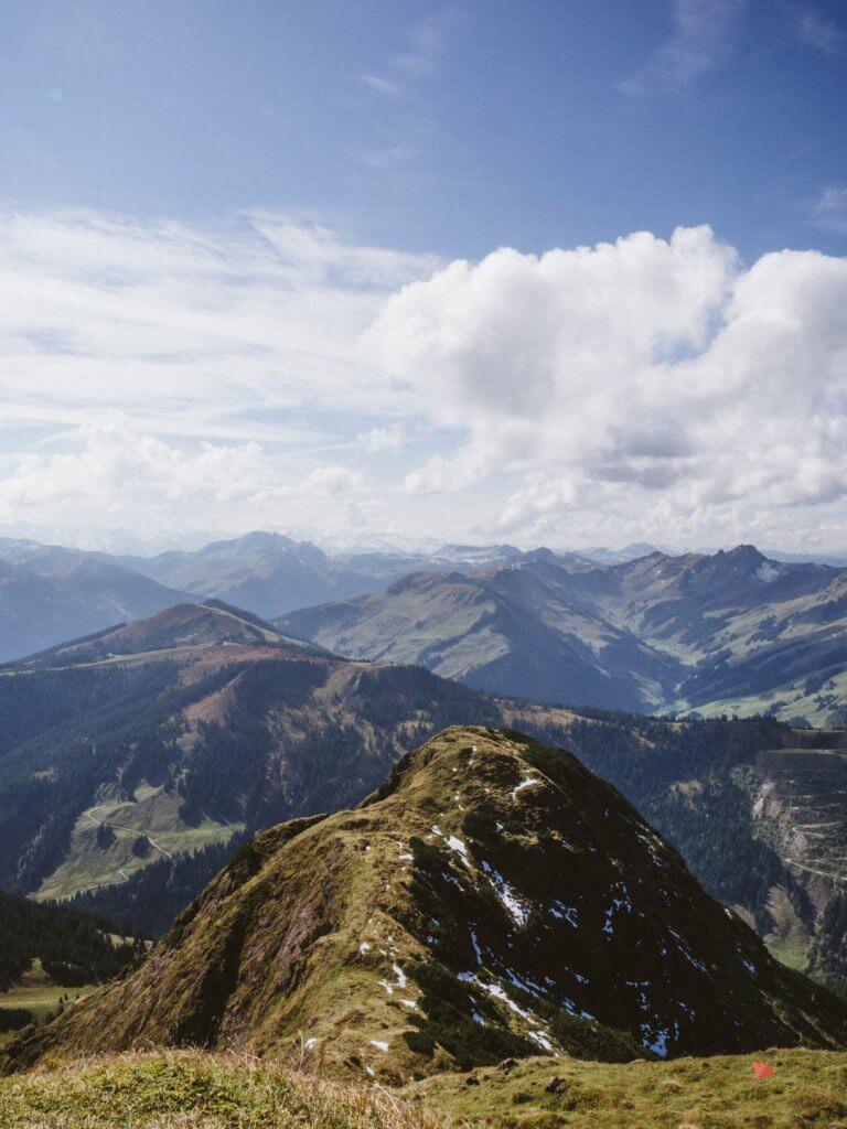 Wanderung auf das Spielberghorn