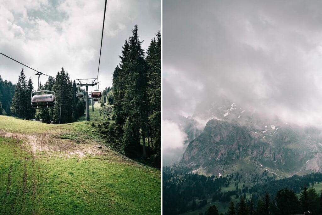 Urlaub in den Dolomiten - Wanderung auf der Seiser Alm