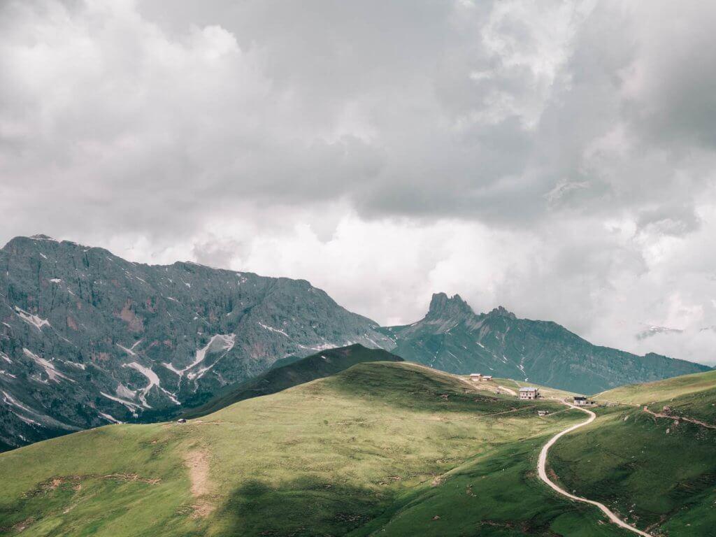 Urlaub in den Dolomiten - Wanderung um den Plattkofel