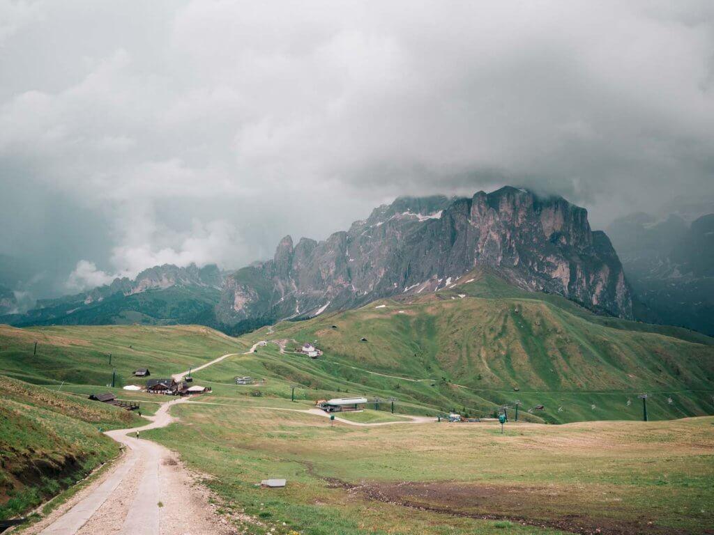 Urlaub in den Dolomiten - Wanderung um den Plattkofel und Langkofel